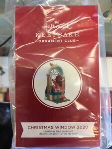 NEW IN BOX 2020 HALLMARK MEMBER EXCLUSIVE CHRISTMAS WINDOW 2020 RARE!!!