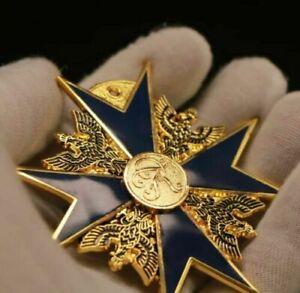 Full Size Hoher Orden vom Schwarzen Adler German Medal Black Eagle Badge