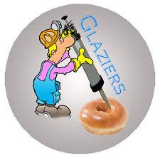 Funny Glazier Decal/Sticker FREE SHIPPING!!