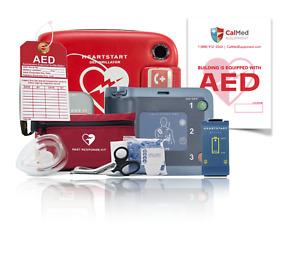 Philips Heartstart FRx AED Defibrillator with All Accessories- 4 Year Warranty