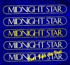 "12"" - MIDNIGHT STAR - DON'T ROCK THE BOAT (BOOGIE FUNK) SPANISH EDIT. 1988, MINT"