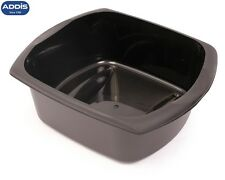 Addis Large Rectangular Bowl 9.5L Black Basin Kitchen Washing New