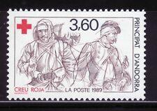 ANDORRA FRANCESA 1989 380 CRUZ ROJA 1v.
