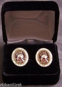 French Cuff Links Order of the Purple Heart with Gift Box NEW