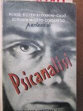 Pende, Stefanini, Calò, Miotto, Scremin, Boyer, Corsanego parlano di Psicanalisi