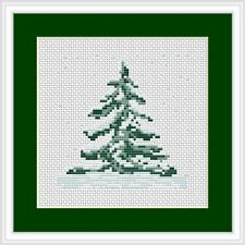 Christmas Tree Cross Stitch Kit Luca S Beginner
