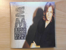 EDDIE MONEY CD: RIGHT HERE (COL 468760 2)