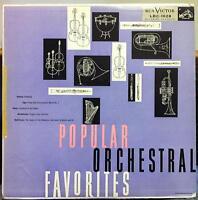 MALKO MARKEVITCH SARGENT popular orchestral favorites LP Mint- LBC-1028 RCA 1955