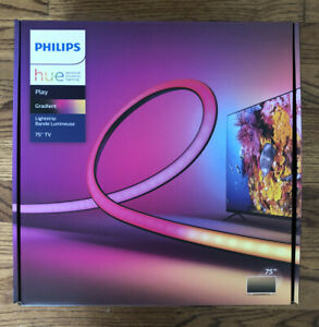 "Philips Hue Play Gradient Lightstrip for 75"" TV, LED Backlight Light Strip"