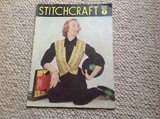 STITCHCRAFT Ladies Vintage Knitting Magazine November 1951