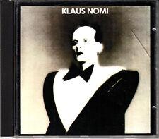 "CD ALBUM    KLAUS NOMI   ""KEYS OF LIFE"""