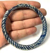 Ancient Roman Blue Glass Bracelet.