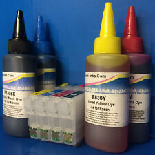 REFILLABLE Cartridge 400ml INK FOR Epson Expression Home XP235 XP245 XP247 XP335