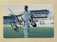 "England cricket Dawid Malan signed 6"" x 4"" photograph"