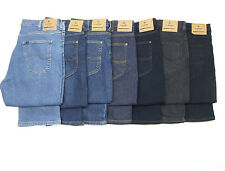 Mens Lee Brooklyn Regular Straight Stretch Jeans RRP£80 (Seconds) L-48