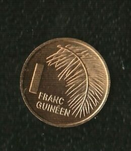 NEW GUINEE 1 FRANCS 1985