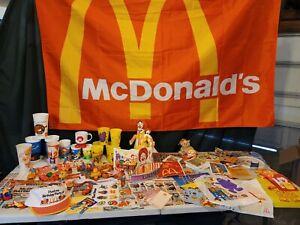 Vintage McDonalds Huge lot of Rare items