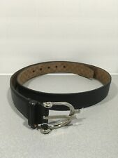 Gucci Horsebit Guccisima Mens Belt 309264 Black Sz 38/95