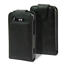 HTC DESIRE G7 G8 BLACK FLIP CASE