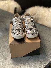 Masters of Arts Glitter Silver Zapato Con Mickey 4uk