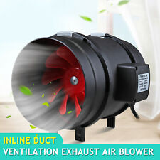 "8 "" Inch Inline Ventilation Duct Fan Quite Air Blower Duct for Exhaust Intake"