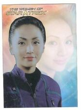WOMEN OF STAR TREK 2010 LEADING LADIES LL9 Linda Park Lt. Hoshi Sato