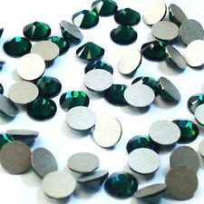 18 Swarovski 2088 crystal wholesale flatback rhinestones ss34 EMERALD (205)