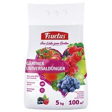 FRUCTUS jardinier Engrais universel 5 kg Engrais ARBUSTE Légume Fruit Fleur haie