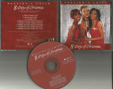 Beyonce DESTINY'S CHILD 8 days of Christmas INSTRUMENTAL & GREETINGS PROMO CD