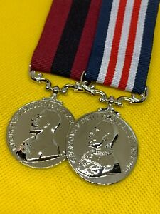 Replica WW1 Medals/Decorations, MM and DCM, Brand New Copy/Reproduction