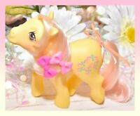 ❤️My Little Pony G1 MLP Vtg KISS CURL Brush Me Beautiful Boutique Pony EURO❤️