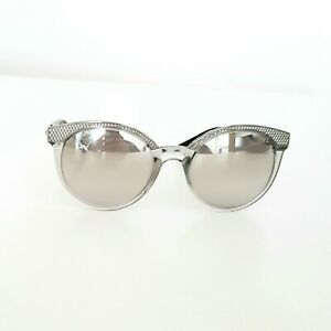 Versace Sonnenbrille Damen , Silber/Grau, TOP