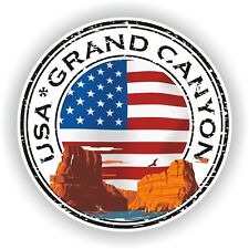 Grand Canyon USA Stamp Seal Sticker Decal for Car Truck Laptop Tablet Fridge