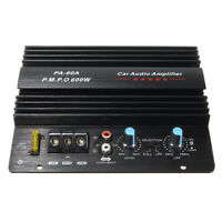 600W High-Power Audio Stromverstärker Brett Auto Heim Super Bass 12V Aluminum