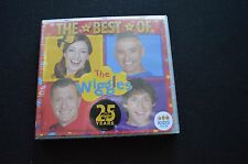 THE BEST OF THE WIGGLES RARE NEW SEALED AUSTRALIAN CD! ABC TV