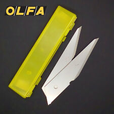 2 Pack OLFA Carving Art Blade CKB-2 For Art Knife CK-2 LTD-06 Replacement Blades