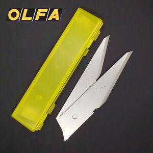 2 Pack OLFA Carving Art Blade CKB-2 For Art Knife CK-2 LTD-06 Replacement Blades