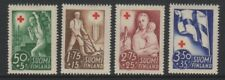 Finland - 1941, Red Cross set - M/M - SG 343/6