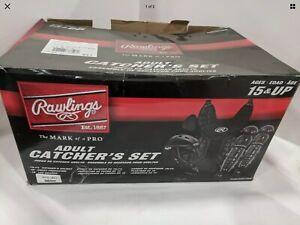 Rawlings Adult Catcher's Set Black Ages 15+