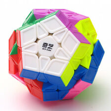 Qiyi Megaminx Cube Sculpted Stickerless Dodecahedron Speed Magic Puzzle
