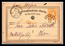 GP GOLDPATH: AUSTRIA POSTAL CARD 1874 _CV776_P07
