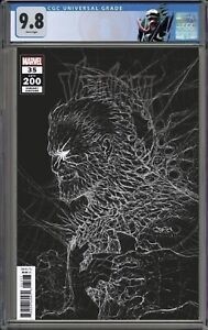 Venom 35 200 CGC 9.8 Gleason Presale Last Venom Issue W/ Custom Venom Label