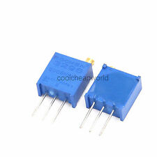 200pcs 3296W 103 10K Ohm Trim Pot Trimmer Potentiometer Variable Resistor 25Turn