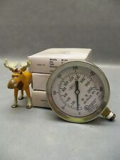 """Pressure Gauge BRC W101 3-1/2"""" 1/4"""" NPT For fire protection Lot of 3"""