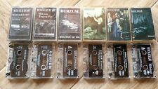 412BURZUM 6x cassette lot MORBID NOIZZ / MYSTIC oop rare polish releases