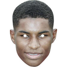 Marcus Rashford Football World Cup Card Celebrity Mask. All Masks Are Pre-Cut