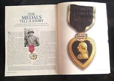 AUDIE MURPHY THE MEDALS TELL A STORY WWII 96 PAGE MAGAZINE MOH HERO