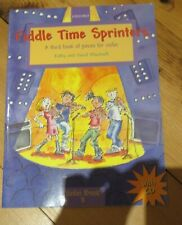 Fiddle Time Sprinters music pieces for the violin book & cd excellent condition