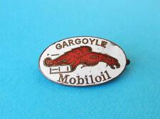 GARGOYLE - MOBILOIL  ... original vintage enameled badge before WW2 * Mobil Oil