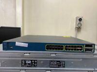 CISCO WS-C3560E-24TD-S V01 24 x GIGABIT PORTS ETHERNET SWITCH